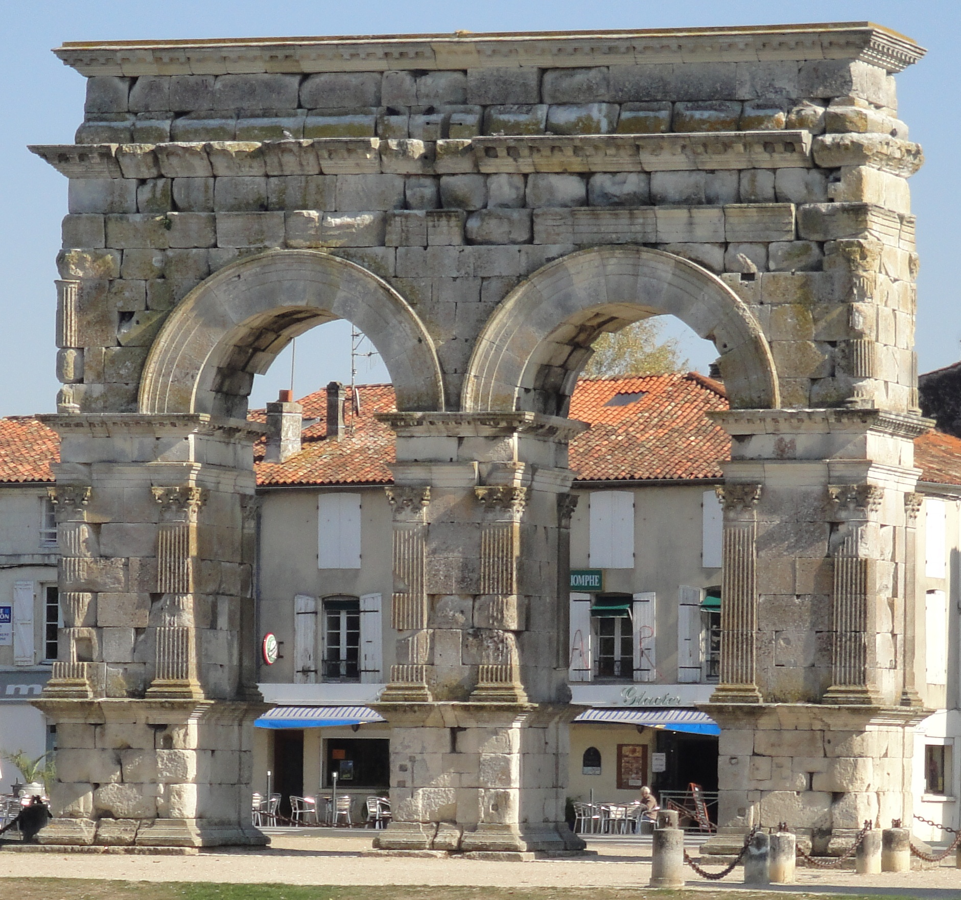 SAINTES - Arc de Germanicus  CMT17 E. COEFFE