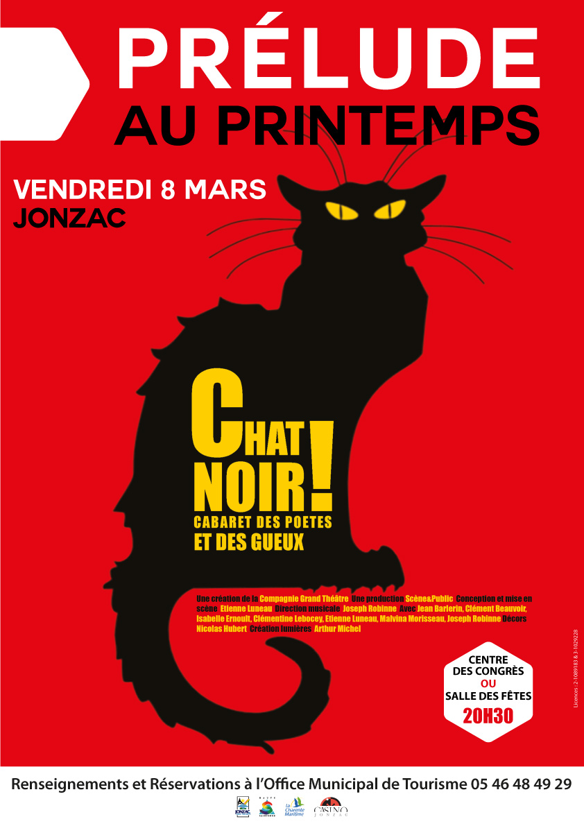 AFF A3 PRELUDE CHAT NOIR