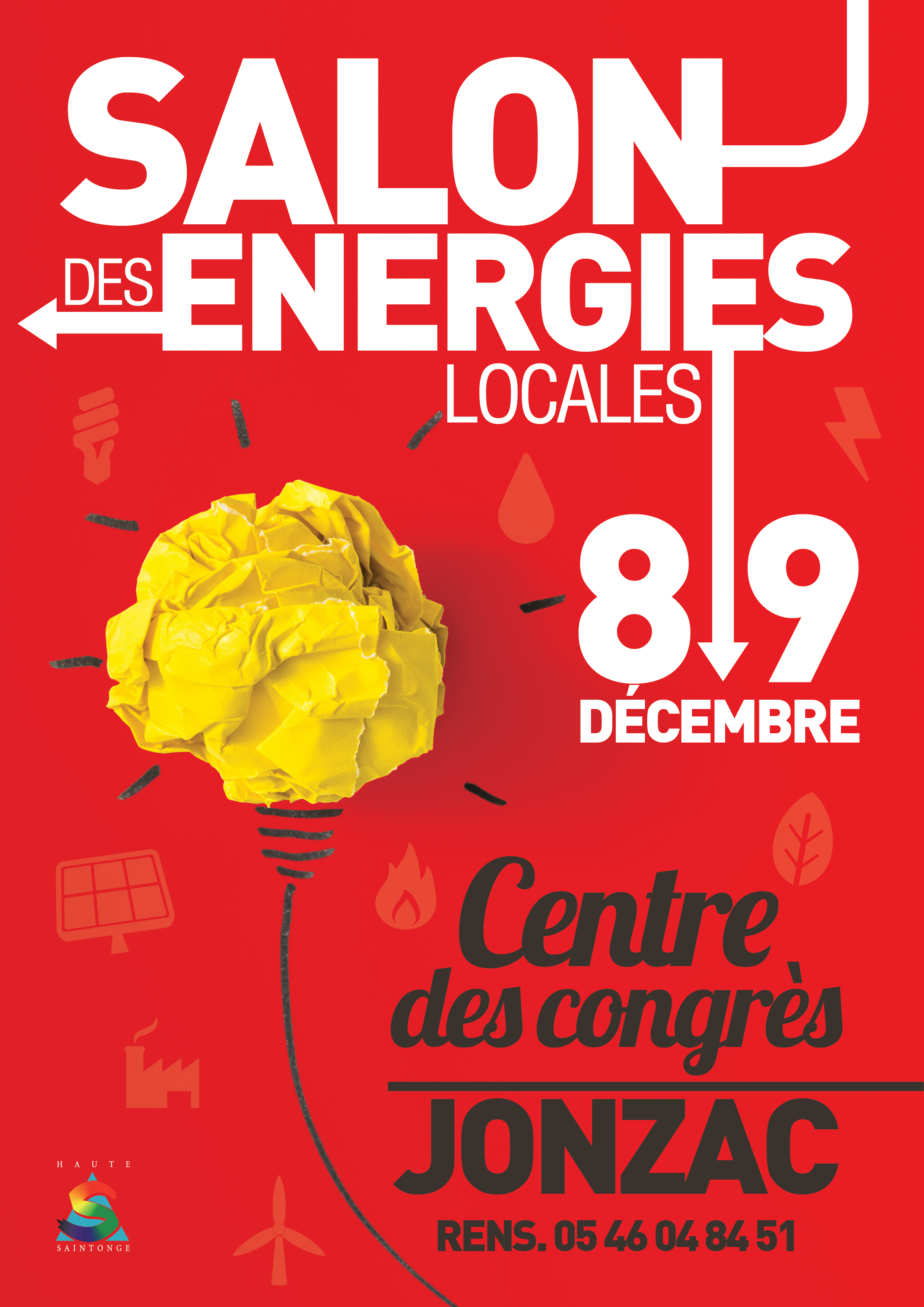 Affiche Salon Energies