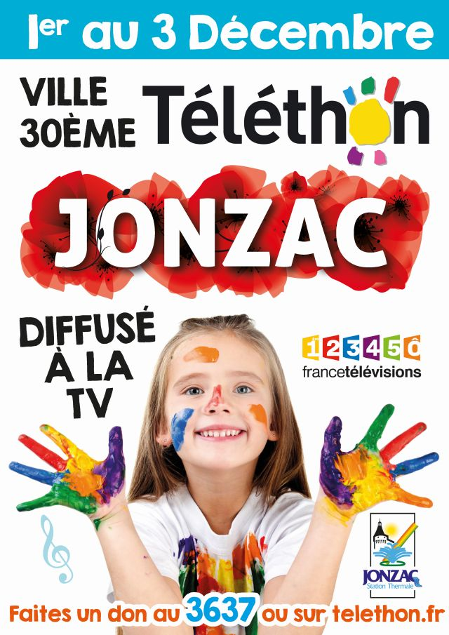 affiche téléthon 2016 officielle light