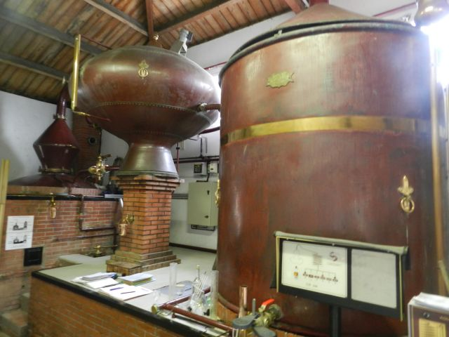 distillation cognac